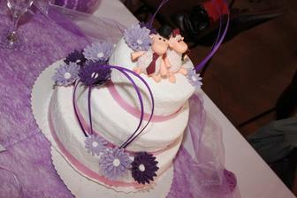 náš luxusní dortíček!!!