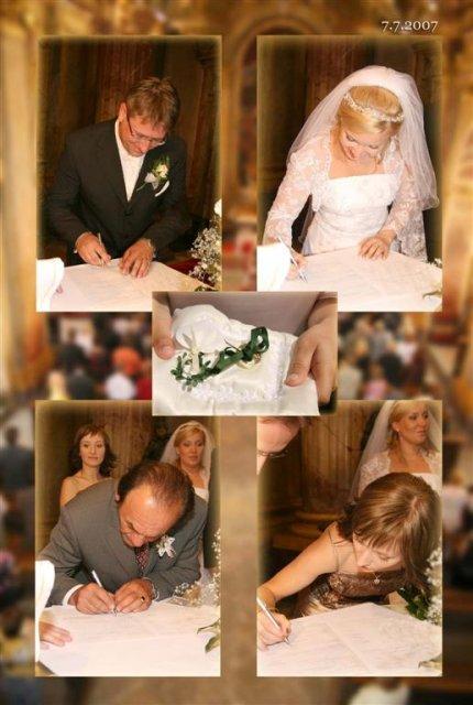 Katka{{_AND_}}Andrej - podpisovanie mojej sestričky Ďakujem za všetko Mimi!!!