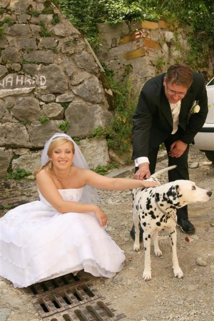 Katka{{_AND_}}Andrej - okoloidúci  pes s veľmi sympatickým majiteľom :)
