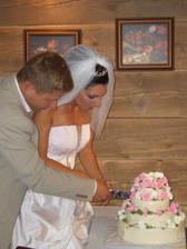 náš naprosto úžasný dortíček