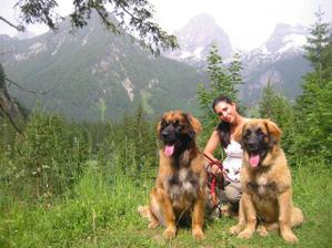 v Alpách se líbilo i našim holčičkám :)