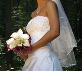 velmi pekne na mieru site svadobne saty, 38