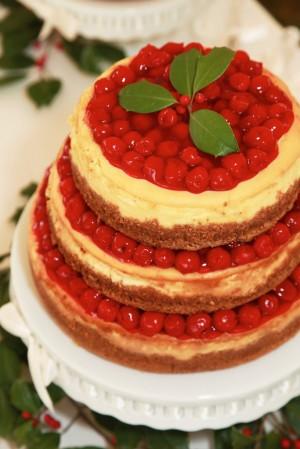Vesnická svatba - ovocné dorty jako vedlejší