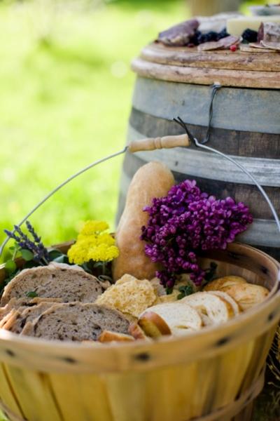 Vesnická svatba - pečivo