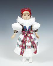 panenky v hanáckém kroji