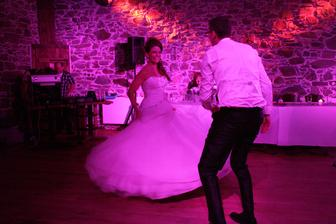 První novomanželský taneček na Hříšný tanec - to byla divočina :D