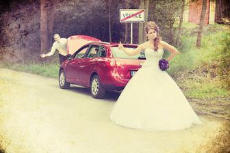 No tak takhle z tý svatby fakt nezdrhnem ...