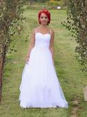 Originálne svadobné šaty - 36, 36