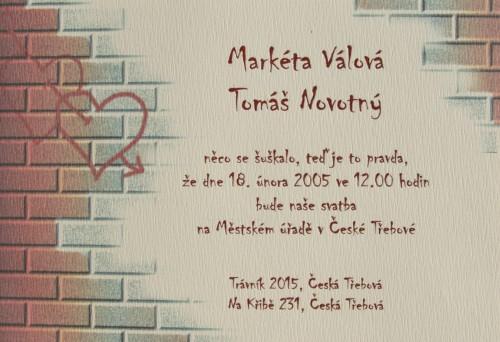 Mamus - napísané na múre-pekné romantické
