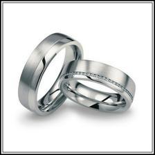 Naše nejkrásnější prstýnky! Jen větší část bude lesklá a zbytek pískování