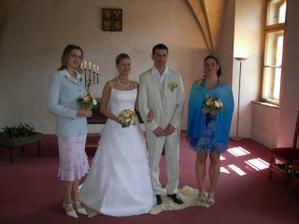 Svědkyně (moje sestřenka a manželova sestra)