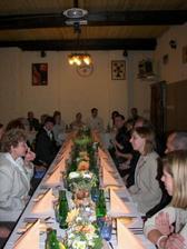 Výzdoba svatebního stolu,díky Simčo