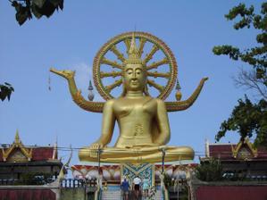 Big Buddha ostrov Koh Samui