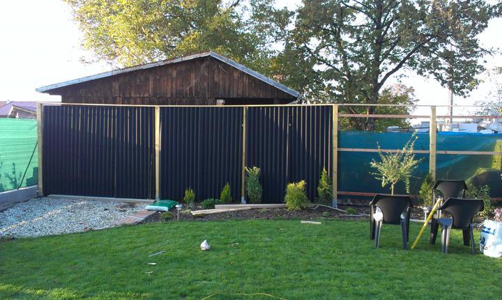 Veľmi lacný plný plot - Obrázok č. 10
