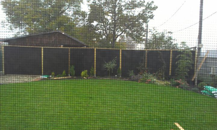 Veľmi lacný plný plot - Obrázok č. 14