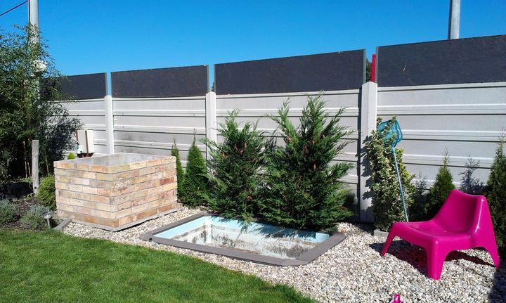 Záhradka - Psi bazen uz vypusteny, cim dam dole ten spinavy povlak?