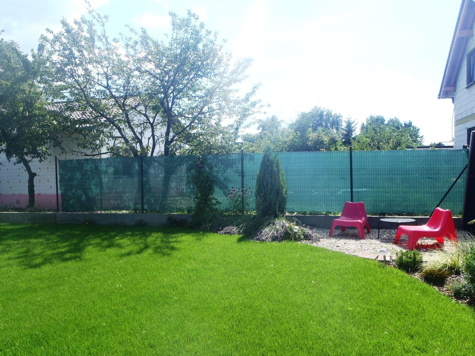 Záhradka - Pribudli mi susedia, kym som bola odstahovana. :-( Ale vyzeraju byt mili.