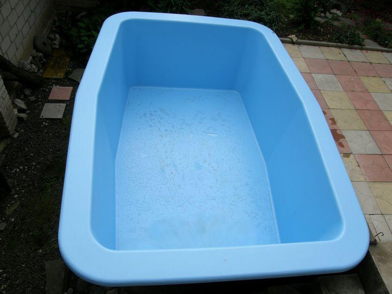 Voda v záhrade - Presne takýto mám zatiaľ...