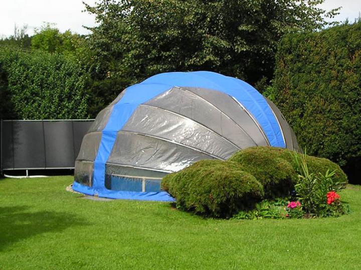 Voda v záhrade - Toto zakrytie fakt skarede. Ale asi splna co ma.