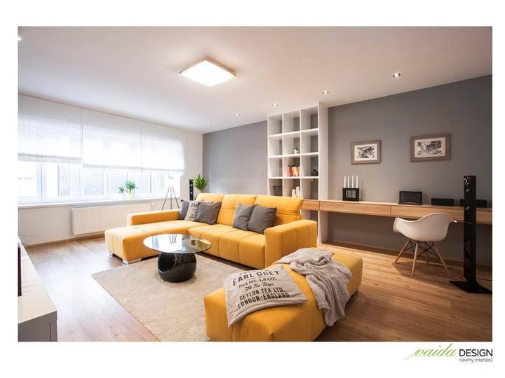 Obývačka- knižnica, sedília a pracovné miesto - Obrázok č. 26