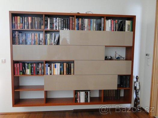 Obývačka- knižnica, sedília a pracovné miesto - Obrázok č. 29