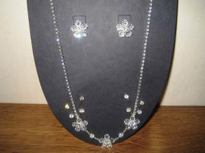 náhrdelník k svadobným šatám
