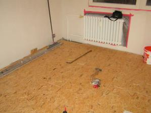 Nové podlahy
