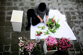 příprava mojí kytky, aneb Zuzu vše v jednou
