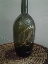 Váza na grilování s barvami na sklo - když se rozbije tak se nic nedeje:-)