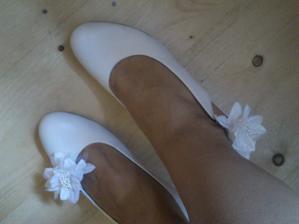 nové kytí na botky....