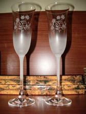 Naše jednoduché, ale krásne svad.poháre