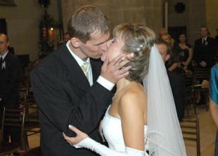 Prvý manželský bozk