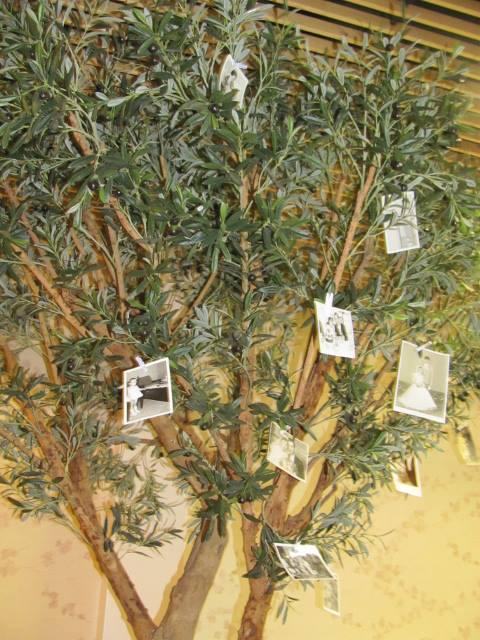 Bea{{_AND_}}Daniel - V restike bol strom, na ktory som popripinala fotky z minulosti rodicov, prarodicov a z nasho detstva :)