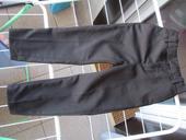 Spolocenske nohavice cierne oblekove s pukmi104H&M, 104