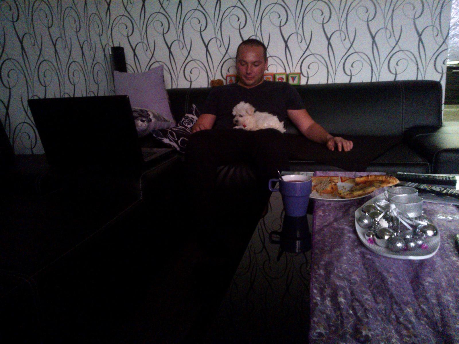 My - Prvý deň s drobčekom Bubkom :-))) :-*