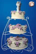 asi to bude tento dort, ale bez konstrukce a ruzicky v barve svatební kytky