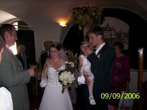 Prípitok pre novomanželov
