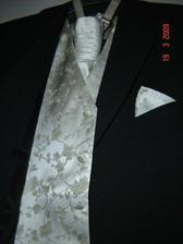 oblek a vestička pro ženicha