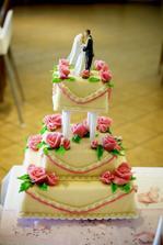 ...a takto vypadal náš dortík..překrásný - cukrárna Rozprým v Brně Líšni