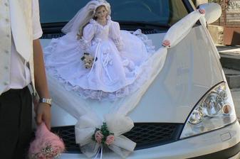 ...moje autí s panenkou...překrásná - skoro jako já :)