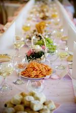 ..naše svatební tabule