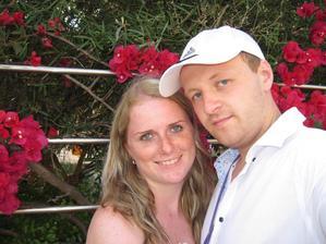 My dva na naší první dovolené u moře (Mallorca).