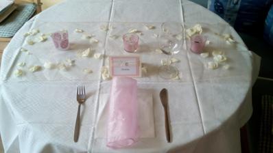Zkouška výzdoby stolu :-)