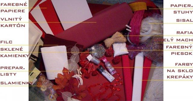 ...05_09_09... - materiál na výzdobu už pripravený doma :)