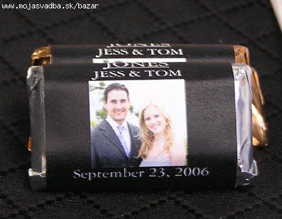 Čo sa do svadobného nevmestilo :) - chceli sme čokoládky...