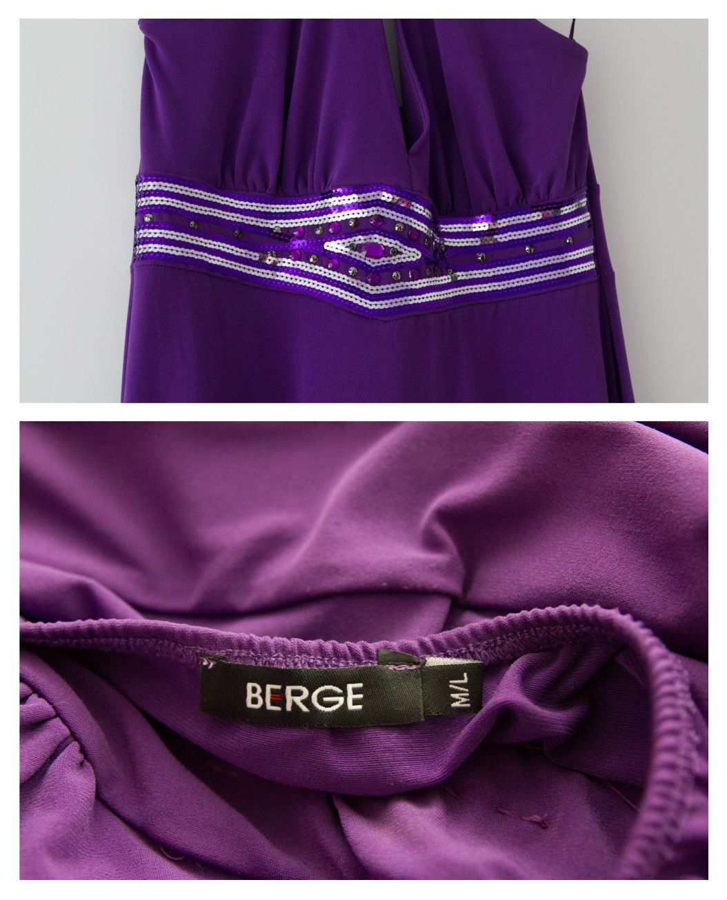 Spoločenské šaty M-L - Obrázok č. 2