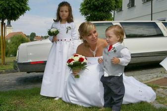 Já a moje zlatíčka neteř a synovec