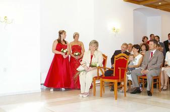 čeká se na nevěstu