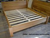 Ihneď k odberu - dubová posteľ,