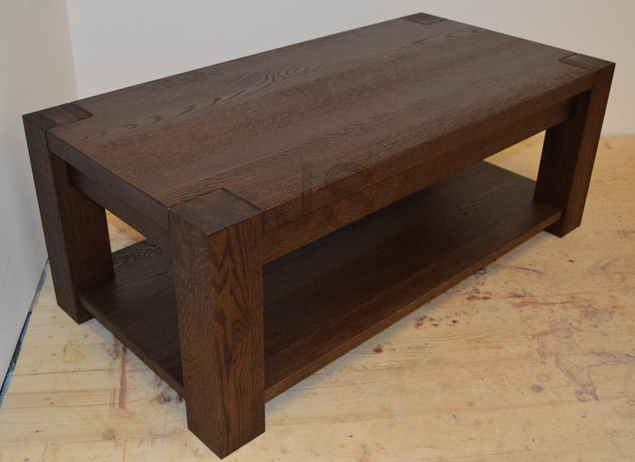 Konferenčný stolík z masívu - Obrázok č. 1